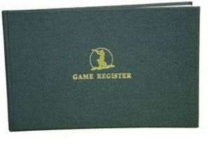Game Register by Bisley